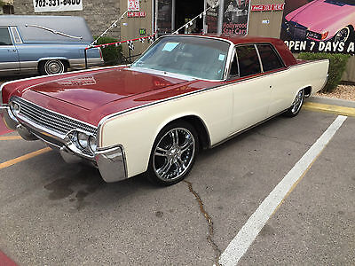 1961 Lincoln Continental Suicide Doors  1961 LINCOLN CONTINENTAL Ex-Museum Car Suicide Doors Runs Well Nice Paint & Rims