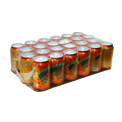 Mirinda Orange Multipack Fizzy Sparkling Drink 24 x 330ml cans Wholesale