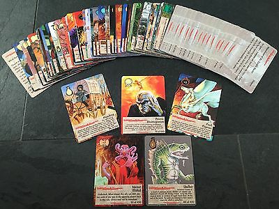 Spellfire - Dungeons - Complete Set 1-100 - Card Game
