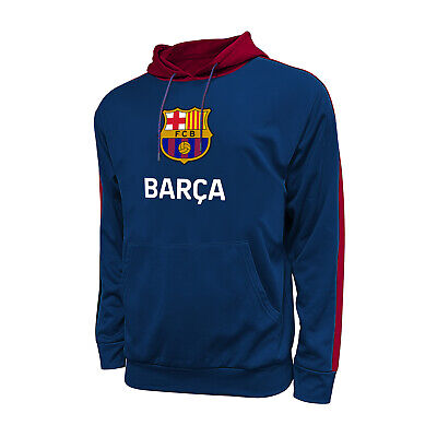 Fc Barcelona Jacket  and Beanie set Track Soccer Adult Sizes Soccer