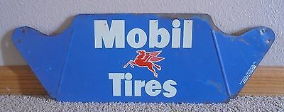 60's Pegasus Mobil Gas Oil Service Station Tire Display Sign