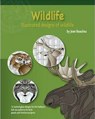 Wildlife Pattern Book - Stained Glass