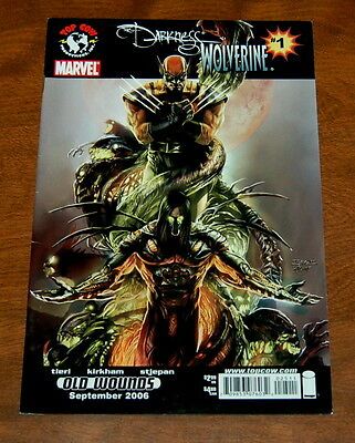 The Darkness Top Cow Image Marvel Comics Issue 1 Wolverine Old Wounds VF/VF+