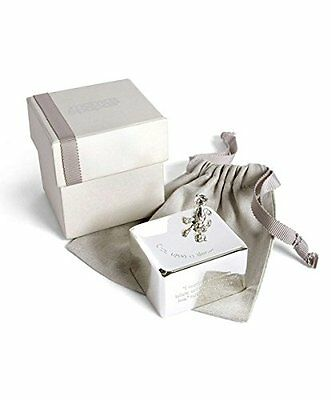 Mamas & Papas Silver Plated Music Box Featuring A 3D Crumble Bear Character New
