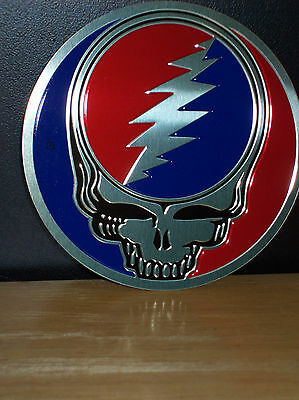 """Grateful Dead Gold Metal Syf Sticker Decal New Officially Licensed 1"""""""