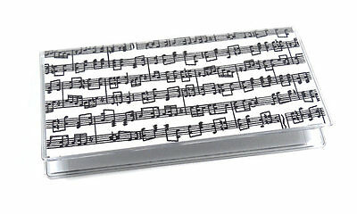 Music Notes Checkbook Cover