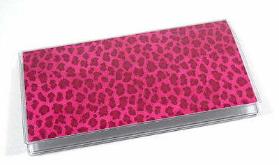 Pink Cheetah Checkbook Cover