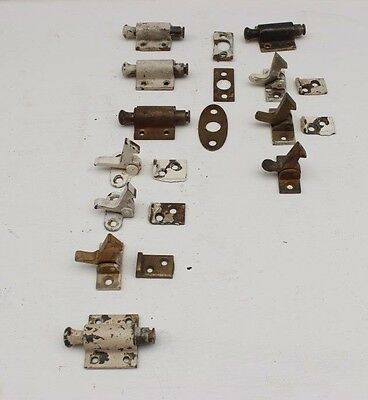 Large Lot Vintage Window and Cabinet Locks