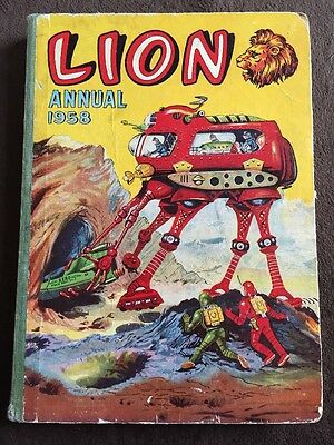 LION ANNUAL 1958 from Lion Comic