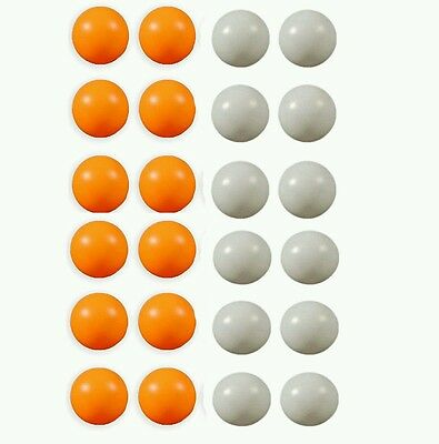 Pack of 60 Plain Orange White Table Tennis balls  pingpong balls ping pong balls