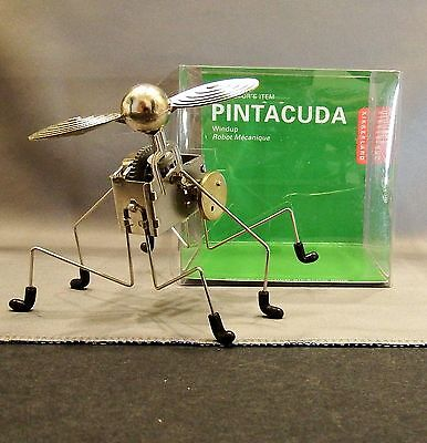 MIB Kikkerland Pintacuda Wind Up Robot 2005 by Chico Bicalho -- Collectors Item