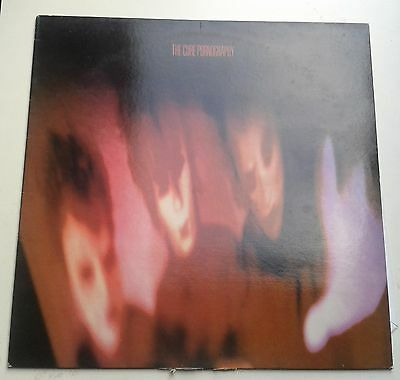 The Cure Pornography LP Original UK Press A3 B3 FIXD7