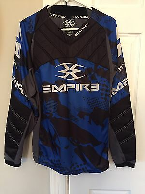 Empire Paintball Jersey Prevail Pattern Color Black Size Medium