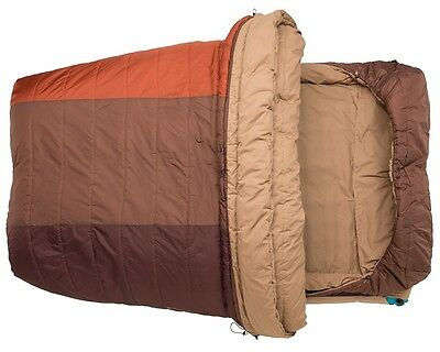 Big Agnes Dream Island 15 Double Wide 2 Person Sleeping Bag NEW Thermolite Fill