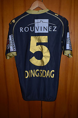 Sion Switzerland No Match Worn Football Shirt Jersey Maglia Kappa #5 Dingsdag