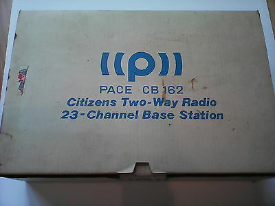 Pace CB 162 / 23 channel radio Base Station NOS 1977