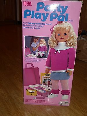 1987 Ideal Patti Playpal Doll Mib Most Tape Recorder Book Instructions Exc