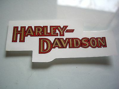 Harley Davidson Motorcycle Window Decal Factory Dealership Sticker Badge Small
