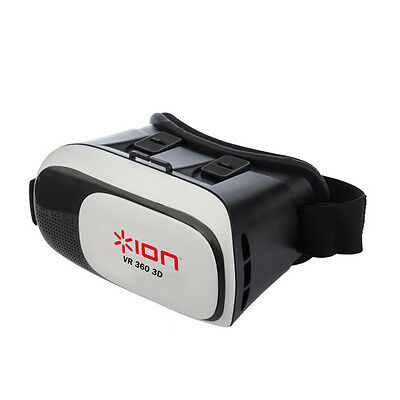 Audio VR360 - VR Headset & Controller for Android iOS Smartphone w/ Handy Ports