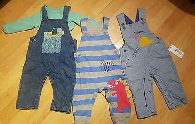 3 x marks & spencer baby boys suits 9-12m
