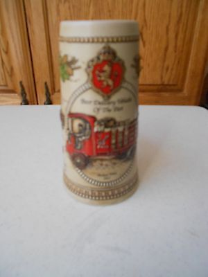 Stroh's Heritage Series V Beer Stein  Delivery Vehicles of the Past