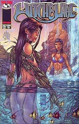 Witchblade # 25 Aspen Fathom Waterfall Cover