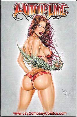 WITCHBLADE # 112 a 112a Jay Company Colored Cover Variant Limited to 250 Copies