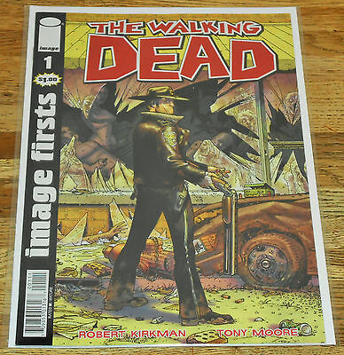 "THE WALKING DEAD no.1 ""Image Firsts"" Edition Image Comics 2010 1st print"