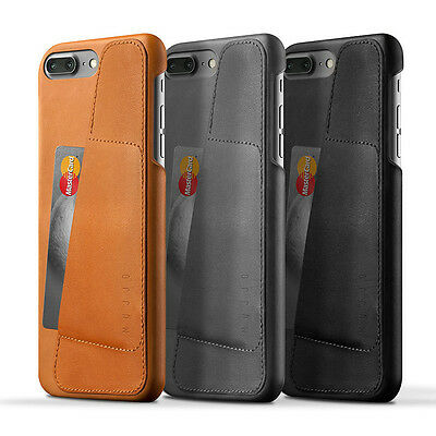 NEW Mujjo Leather Wallet Case For iPhone 7 PLUS Men's by Macintosh-Addict