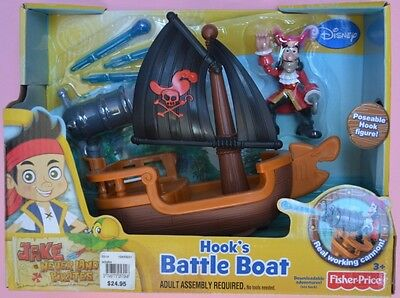 Jake and the Neverland Pirates Hooks Battle Boat BNIB