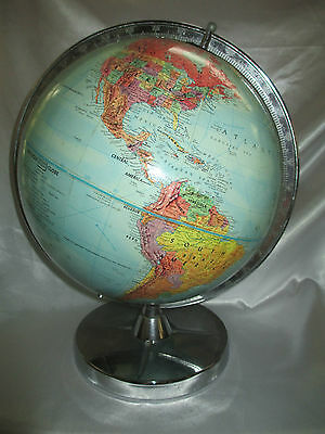 "Replogle ""Stereo Relief"" World Globe"