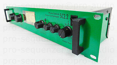 "JOEMEEK SC2.2 V4 Photo Optical Stereo Compressor ""Dark Mode"" Fletcher + Garantie"