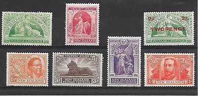 [2562]New Zealand (NZ) 1920 Victory Set  MINT Lightly hinged nice condition.