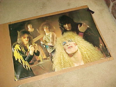 Twisted Sister Poster #2 Anabas Products England 1983