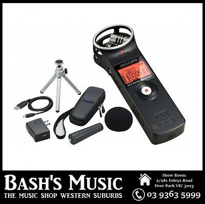 Zoom H1 Handy Digital Recorder and Accessory Pack BRAND NEW FREE SHIPPING
