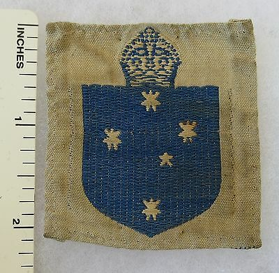 Early Post WW2 AUSTRALIAN ARMY FORMATION SIGN PATCH - 3rd MILITARY DISTRICT