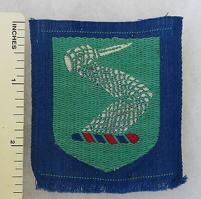 Early Post WW2 AUSTRALIAN ARMY FORMATION SIGN PATCH - 13th INFANTRY BRIGADE