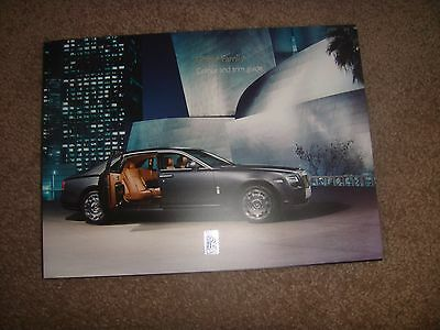2015 Rolls Royce Ghost Commissioning Colour Trim Special Brochure