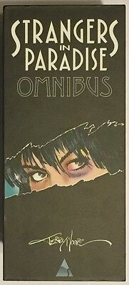 Strangers In Paradise Omnibus (Abstract Studio) Softcover 2 Volumes in Slipcase