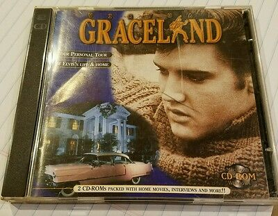 Virtual Graceland Tour 2 CD-Rom's Packed with Home Movies, Interviews & More!!