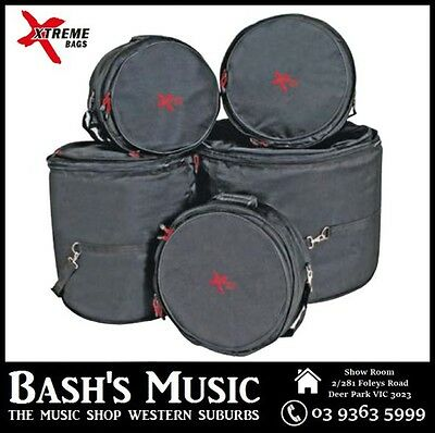 "DXP DA577PR 22"" Rock Drum Gig Bag Case Set"