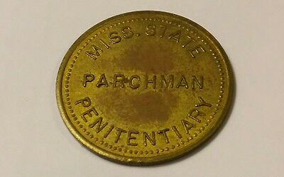 PARCHMAN MISSISSIPPI Trade Token 50c