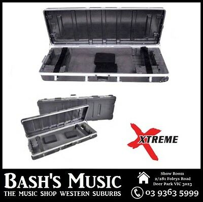Xtreme KC61 61 Key ABS Keyboard Hard Case with Wheels 106 x 36 x 14.5cm