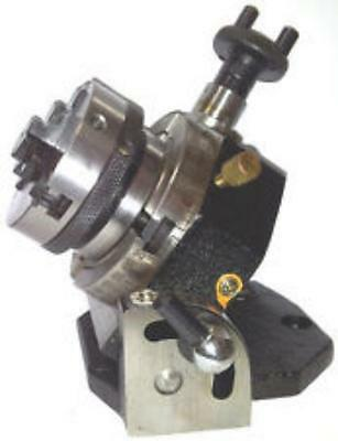 """ROTARY TABLE 3""""-4 slots with  2.1/2"""" SELF CENTRING CHUCK HORIZONTAL VERTICAL"""