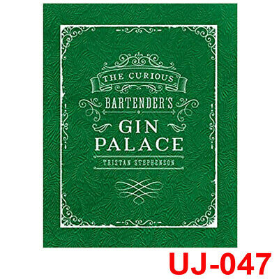 The Curious Bartender's Gin Palace Book By Tristan Stephenson, NEW Hardback