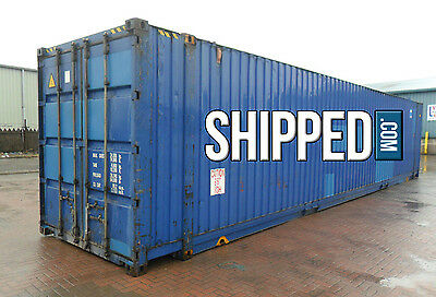 45' Giant Hc Wind And Water Tight Shipping Container - Super Holiday Sale Price