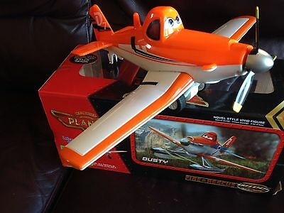 Remote Controlled Dusty The Plane Kids Toy Christmas Gift New
