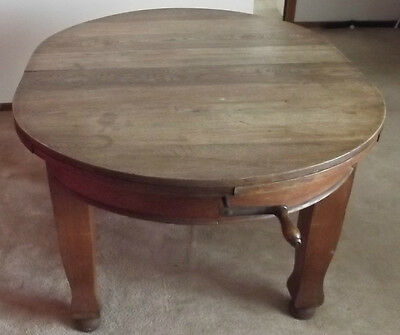 Solid Timber Handle Extendable Dining Table And Chairs