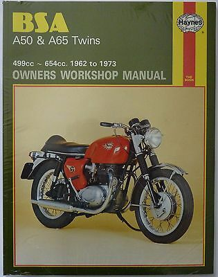 BSA A50 and A65 Twins 1962-1973 Haynes Owners Workshop Manual