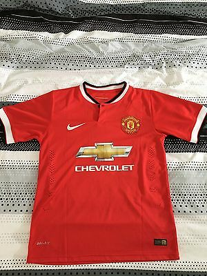 Maillot Manchester United 2014-2015 Di Maria Taille S